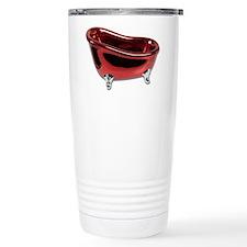 Red BathTub Travel Mug