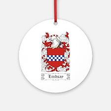 Lindsay Ornament (Round)