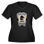 Merriam Police SWAT Women's Plus Size V-Neck Dark