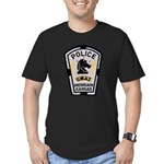 Merriam Police SWAT Men's Fitted T-Shirt (dark)