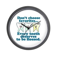 Funny Dentist Humor Wall Clock