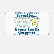 Funny Dentist Humor Banner