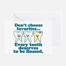 Funny Dentist Humor Greeting Card