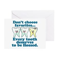 Funny Dentist Humor Greeting Cards (Pk of 20)