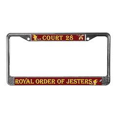 ROJ Custom License Plate Frame