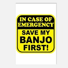 Banjo Emergency Postcards (Package of 8)