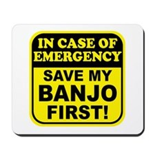 Banjo Emergency Mousepad