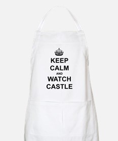 """Keep Calm And Watch Castle"" Apron"
