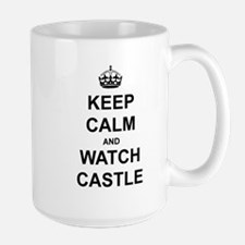 """Keep Calm And Watch Castle"" Mug"
