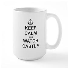 """Keep Calm And Watch Castle"" Mug"