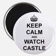 """""""Keep Calm And Watch Castle"""" Magnet"""