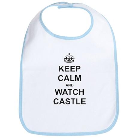 """Keep Calm And Watch Castle"" Bib"