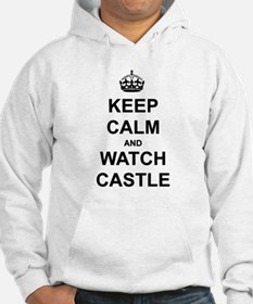 """""""Keep Calm And Watch Castle"""" Hoodie"""