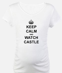 """""""Keep Calm And Watch Castle"""" Shirt"""