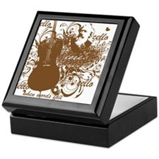Music Speaks Cello Keepsake Box