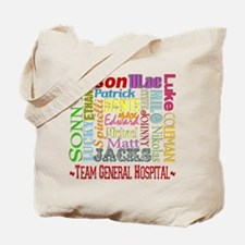 Team General Hospital Tote Bag