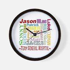 Team General Hospital Wall Clock