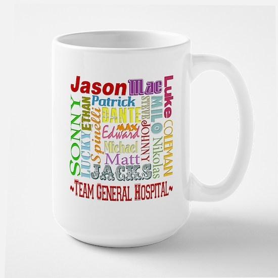 Team General Hospital Large Mug