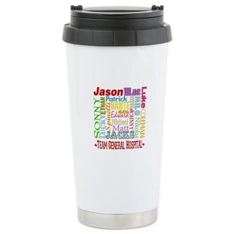 Team General Hospital Stainless Steel Travel Mug
