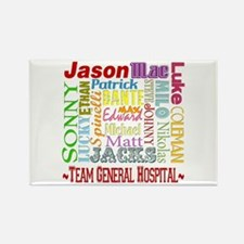 Team General Hospital Rectangle Magnet
