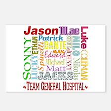 Team General Hospital Postcards (Package of 8)