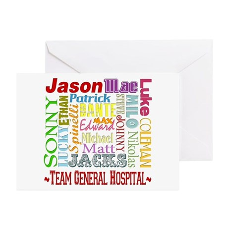 Team General Hospital Greeting Cards (Pk of 10)