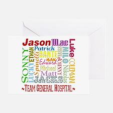 Team General Hospital Greeting Card