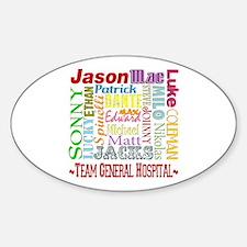 Team General Hospital Sticker (Oval)