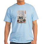 Samurai Warrior Akechi Mitsuhide Light T-Shirt