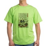 Samurai Warrior Akechi Mitsuhide Green T-Shirt