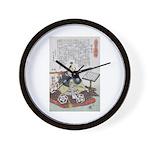 Samurai Warrior Akechi Mitsuhide Wall Clock
