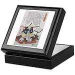 Samurai Warrior Akechi Mitsuhide Keepsake Box