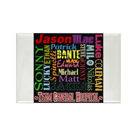 Team General Hospital Rectangle Magnet (10 pack)
