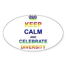 Keep Calm and Celebrate Diver Bumper Stickers