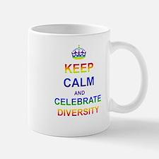 Keep Calm and Celebrate Diver Mug