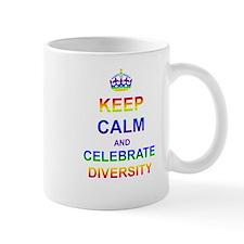 Keep Calm and Celebrate Diver Small Mug