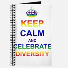 Keep Calm and Celebrate Diver Journal