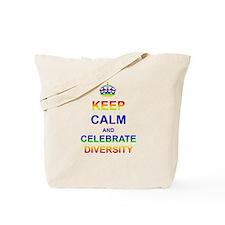 Keep Calm and Celebrate Diver Tote Bag