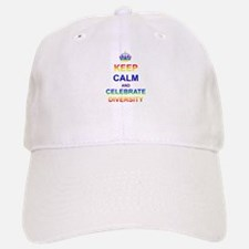 Keep Calm and Celebrate Diver Baseball Baseball Cap