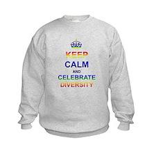 Keep Calm and Celebrate Diver Sweatshirt