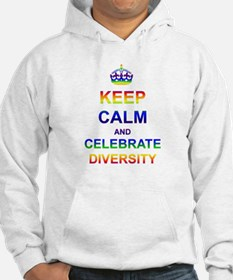 Keep Calm and Celebrate Diver Hoodie