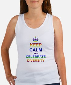 Keep Calm and Celebrate Diver Women's Tank Top