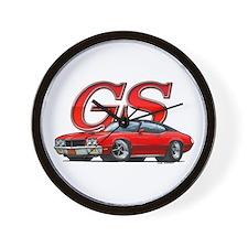 Red Skylark GS BV Wall Clock
