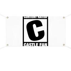 Rated Castle Fan Banner