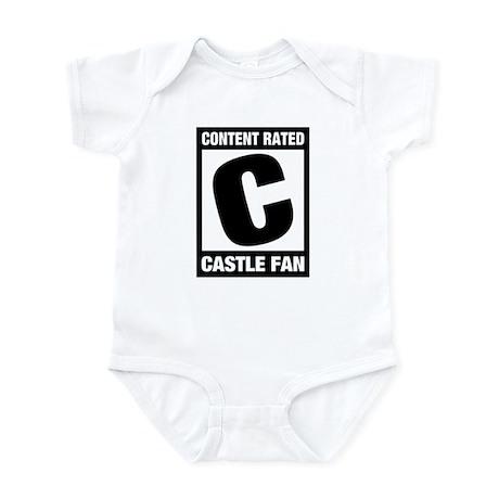 Rated Castle Fan Infant Bodysuit
