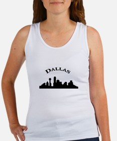 Cute Dallas skyline Women's Tank Top