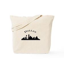 Cute Dallas skyline Tote Bag