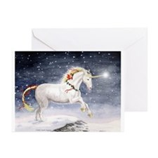 Unicorn Christmas Cards (Pk of 10)