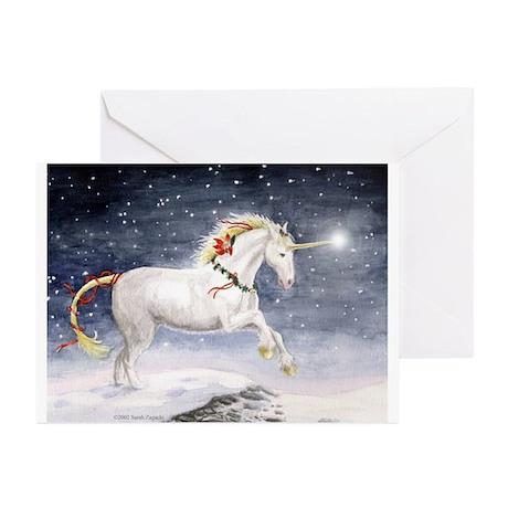 Unicorn Christmas Cards (Pk of 10)