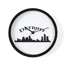 Cute Detroit Wall Clock